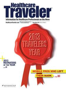 HT Mag Dec 2013 2013 Travelers and Recruiters of the Year