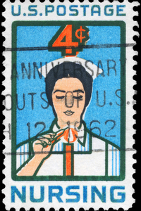 Nurse Stamp Nursing Throughout History