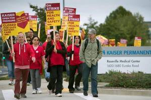 Nurse Strike In the News: Kaiser Nurse Strike