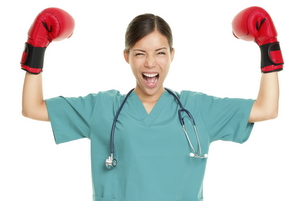 Fight Boxing gloves New Nurse Blog: Fighting Dinosaurs