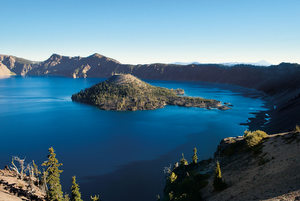 Oregon's beautiful Crater Lake.