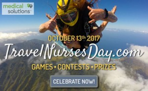 Calling all travel nurses: it's Travel Nurses Day this Friday, October 13th!